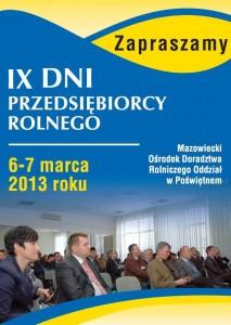 DPR 2013 ulotka